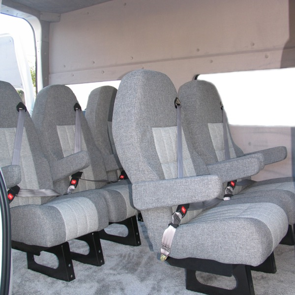 Can Conversion Vans Accommodate Car Seats