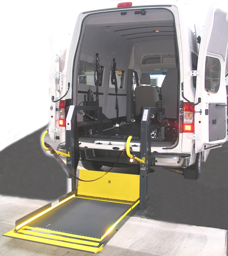 Ford Transit 12 Passenger Van >> Nissan Mobility Conversions - Customizers Quality Conversions