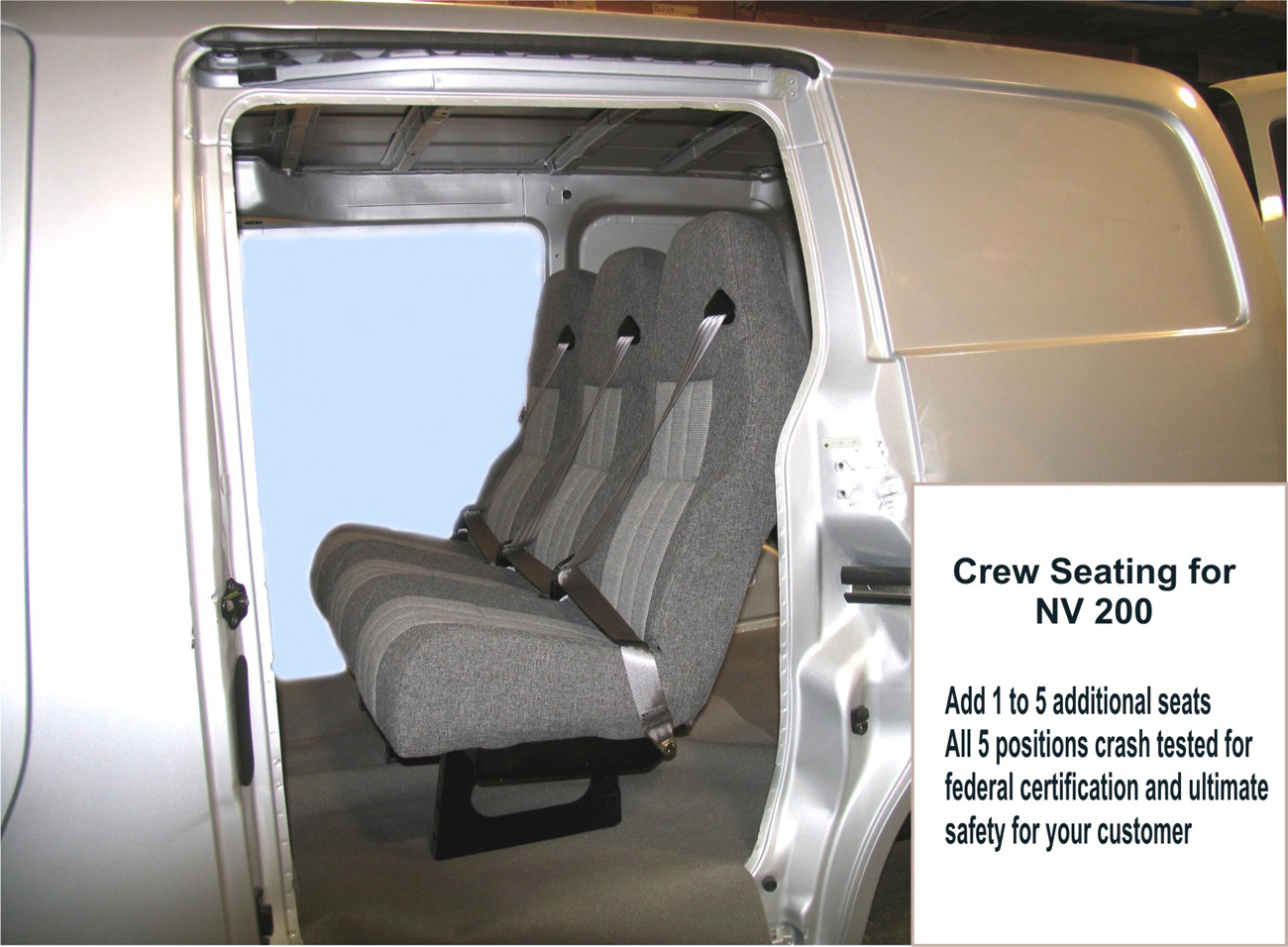 Nissan Nv Passenger >> Nissan Custom Vans - Customizers Quality Conversions