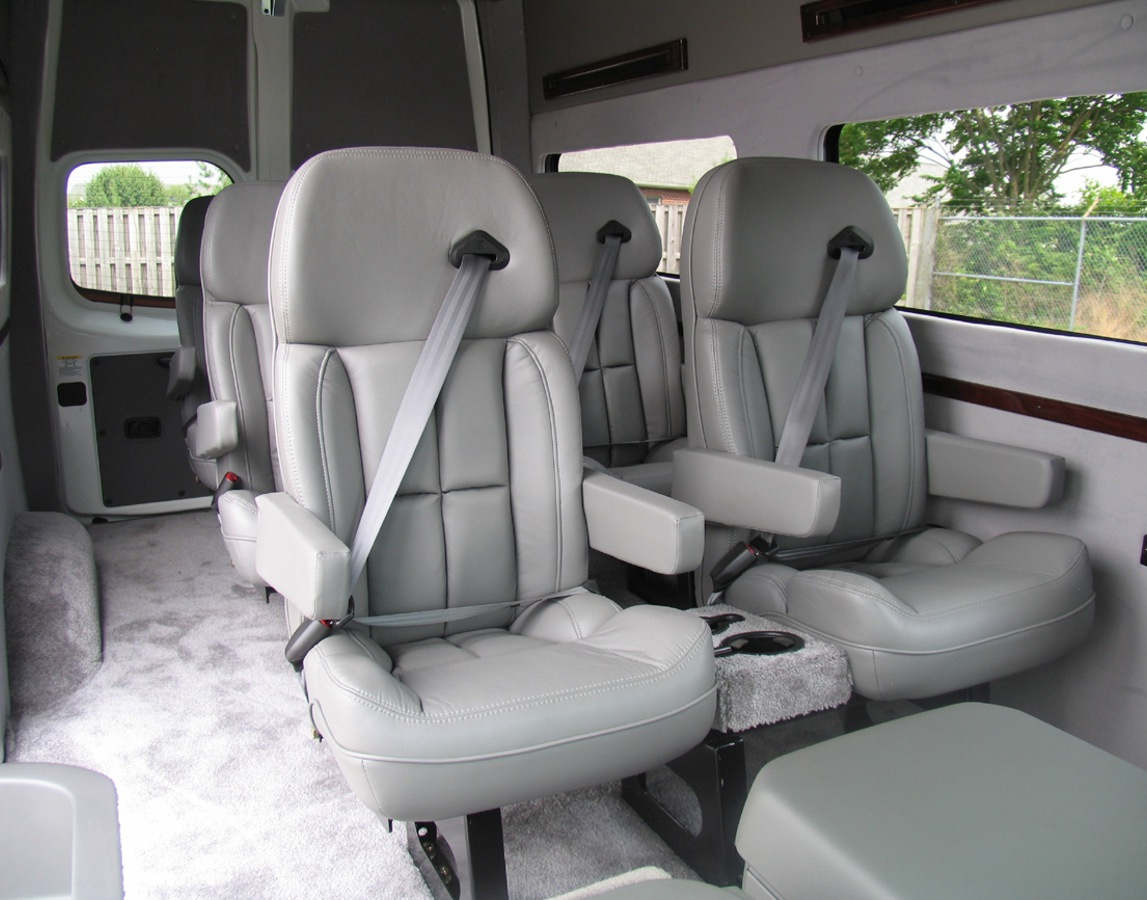 nissan nv3500 custom interior. Black Bedroom Furniture Sets. Home Design Ideas