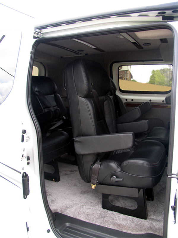 Nissan Nv Passenger >> Nissan Custom Vans - Customizers Quality Conversions