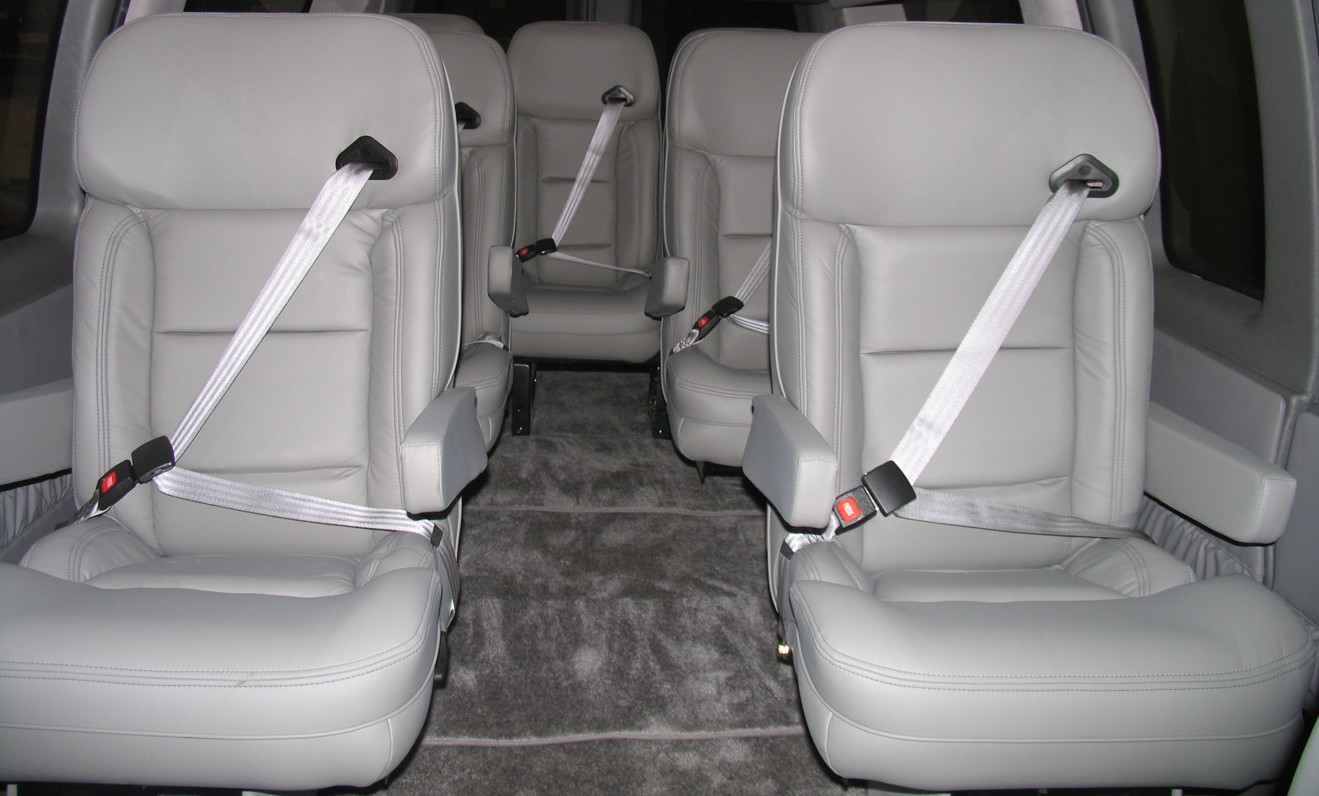 Ford 12 Passenger Van >> Nissan Custom Vans - Customizers Quality Conversions