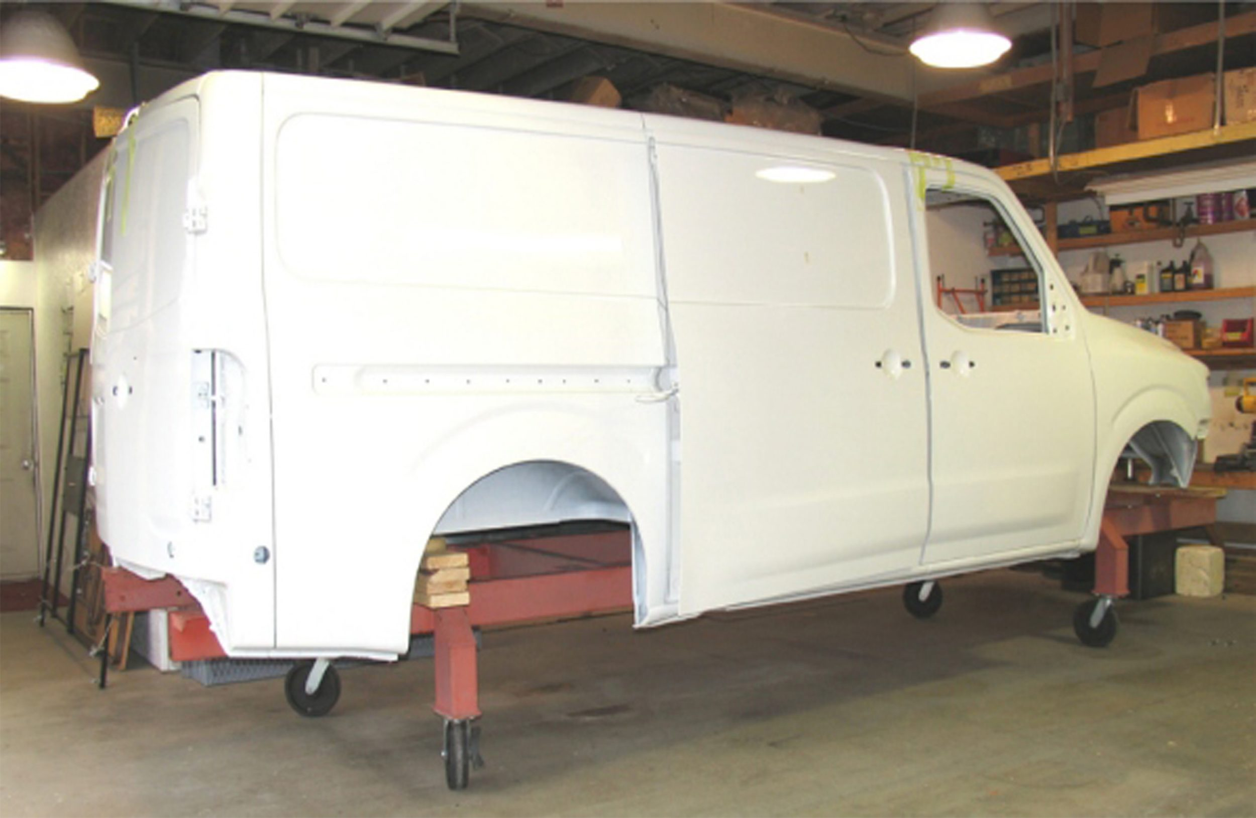 43b5130c47 Every Customizers van exceeds all federal crash certification   meets all GM